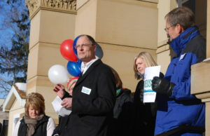 Eric Leutheuser Campaigning