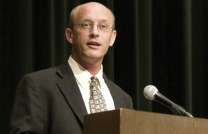 Michael Ward will Speak at commencement this spring.