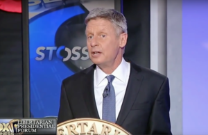 Gary Johnson speaks during Fox News' Libertarian Debate (youtube.com)