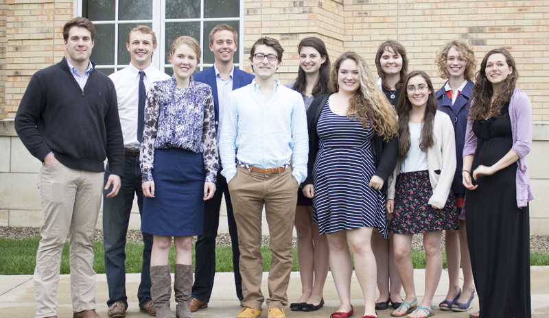 The 2016 - 2017 Collegian Editorial Staff
