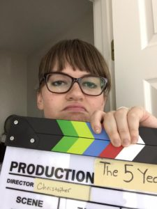 Alumna Allyn Morrison worked as an extra in four films and a production assistant in two | Courtesy Morrison