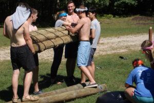 Students participate in the retreat Rachel Umana   Collegian
