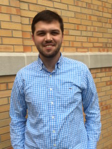 "Drew Jenkins: ""It was cool to be nominated by people in Sigma Chi, and I'm looking forward to all the perks of the job like riding in the homecoming parade.""  Clara Fishlock 
