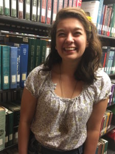"Alexis Garcia: ""I'm super excited, super humbled by this opportunity to participate in one of Hillsdale's longstanding traditions, especially since it's the centennial year."" Clara Fishlock 