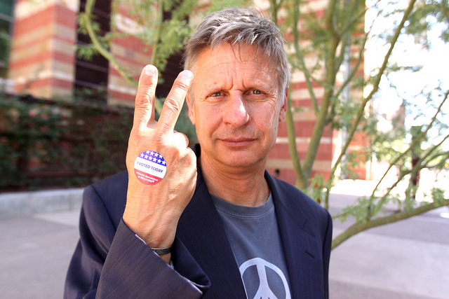 Libertarian Party Presidential Candidate Gary Johnson understands the U.S. economy.