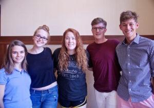 Hillsdale College Democrats returns to campus. (Photo: Cat Howard / Hillsdale Collegian)