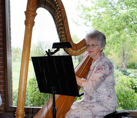 Diane Dunn searched for her lost harp for 40 years before rediscovering it at Hillsdale College. Facebook