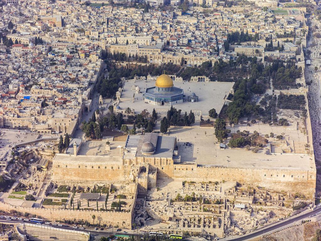 The Temple Mount in Jerusalem | Wikimedia
