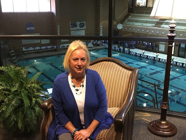 After 17 years of working for the athletic department, Claudia Gillette, aide to the athletic director, will retire Dec. 23. Madeleine Jepsen | Collegian