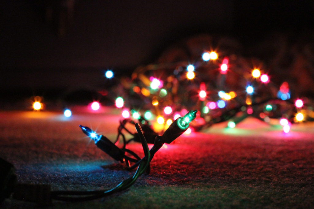 Christmas is best celebrated  with multicolored lights | Flickr
