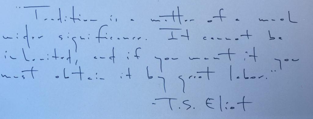 Delp in translation: reading professor's handwriting