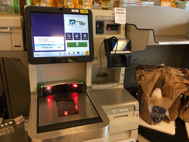 Kroger Slows Down Self Checkout Machines