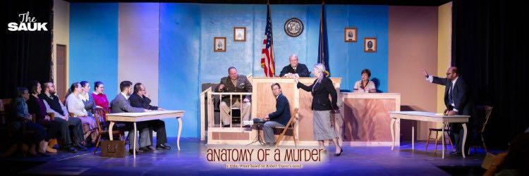 Sauk Theatre to present 'Anatomy of a Murder' gripping Michigan history