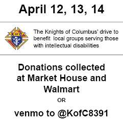 Knights of Columbus fundraiser