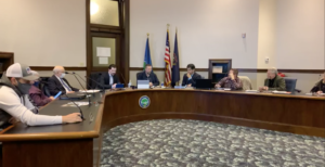 Hillsdale city council meets to discuss their goals for 2021. COURTESY | PENNY SWAN