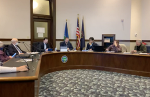 Hillsdale city council meets to discuss their goals for 2021. COURTESY   PENNY SWAN