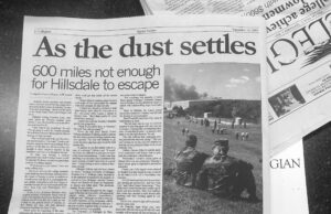 A Collegian issue from Sept. 2001 reacts to the tragic event. Collegian | Tracy Wilson
