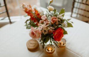 Black Dog Meadows Flower Farm arranges custom wedding bouquets. Courtesy   Kate Beno