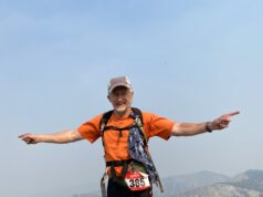 Charles Steele traverses mountain tops. Courtesy | Charles Steele