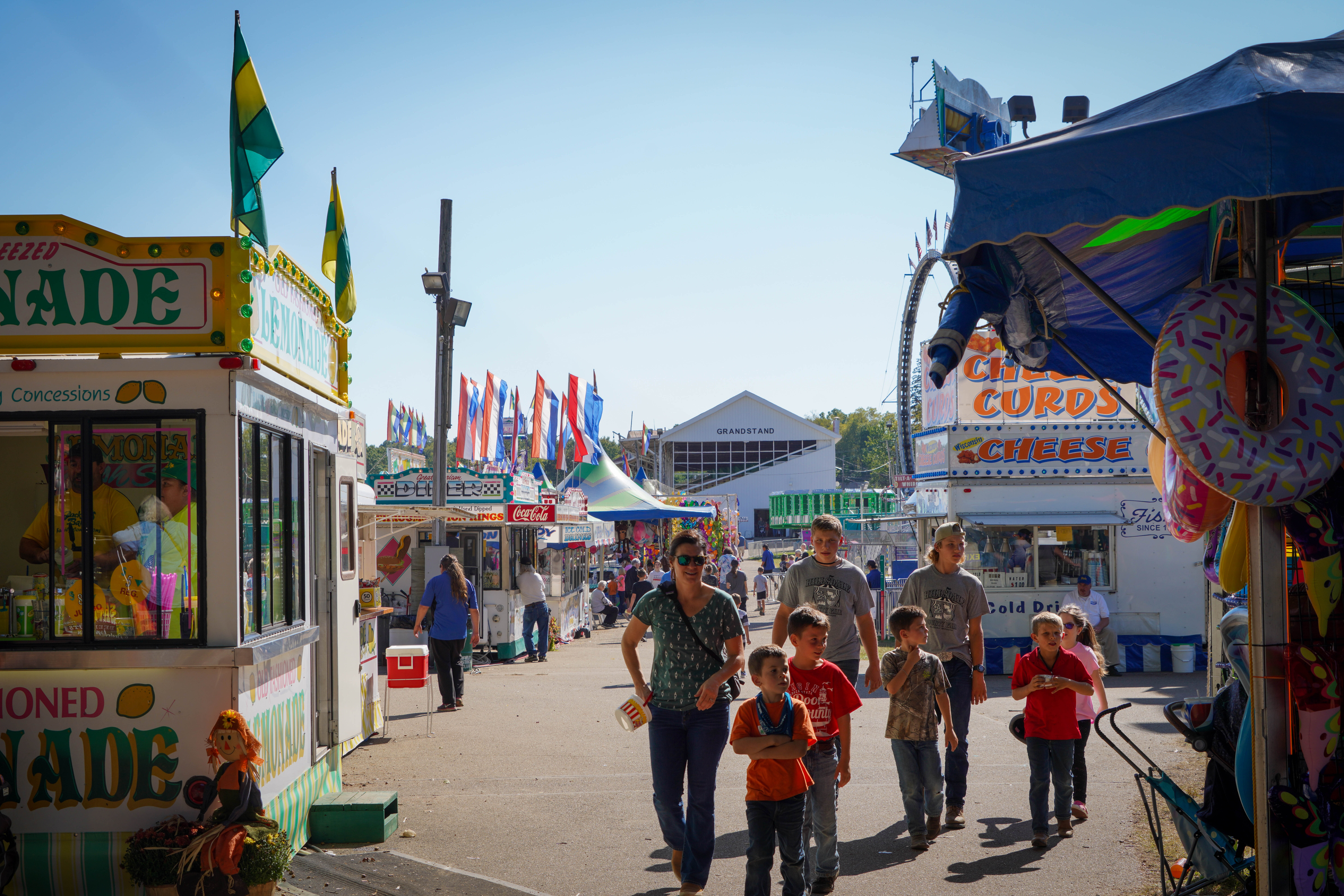 Fair-goers enjoy everything the Hillsdale County Fair has to offer. Collegian   Grace Umland