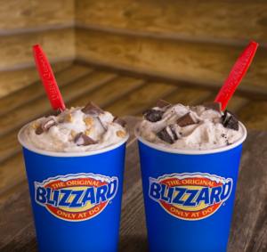 Two classic Dairy Queen Blizzards. Courtesy   Facebook