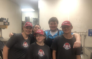 Wendy's staff members said they are excited for the new dining room to open. Collegian | Lauren Scott